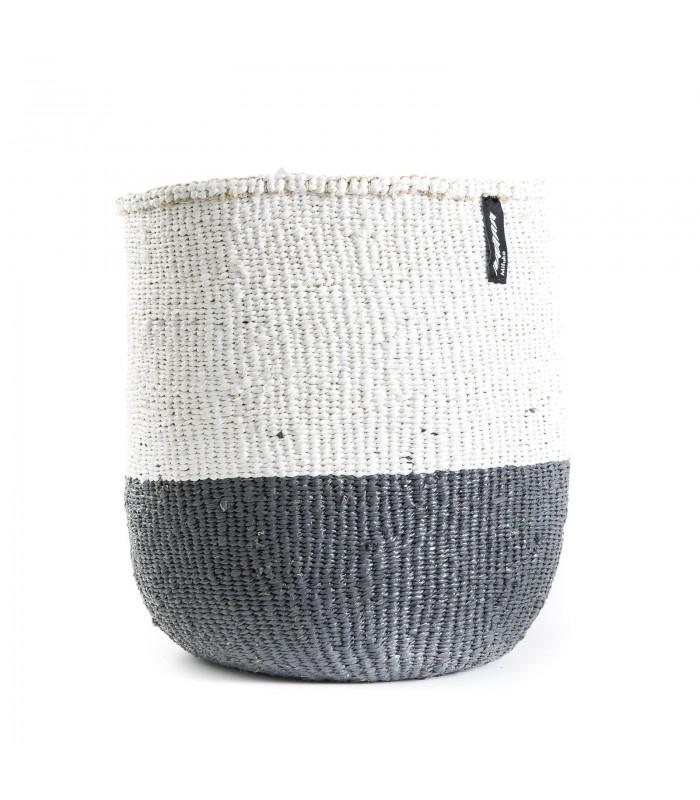 Basket Grey/White