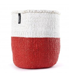 Basket Red/White - 2 Sizes