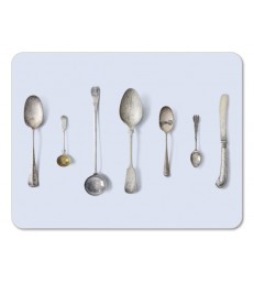 Placemat Cutlery Blue