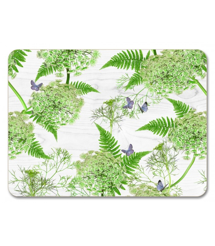 Placemat White Dill