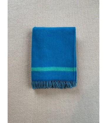 Blue & Green Merino & Cashmere Throw