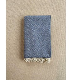 Denim Merino & Cashmere Throw