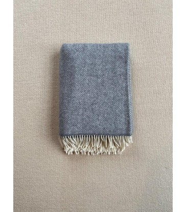 Dark Grey Merino & Cashmere Throw