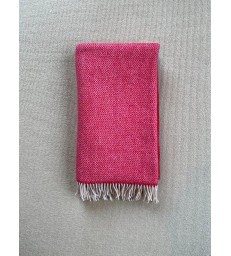 Hot Pink Merino & Cashmere Throw