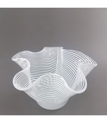 Wavy Fluted Glass Bowl