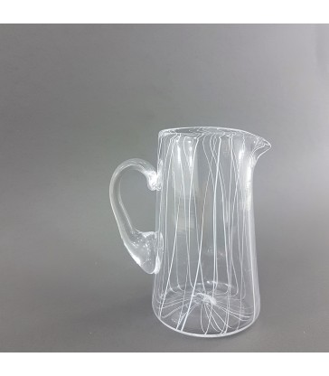 Small glass pouring jug