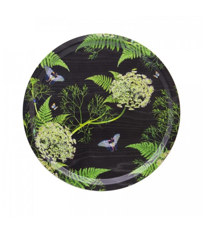 39cm black dill birch tray