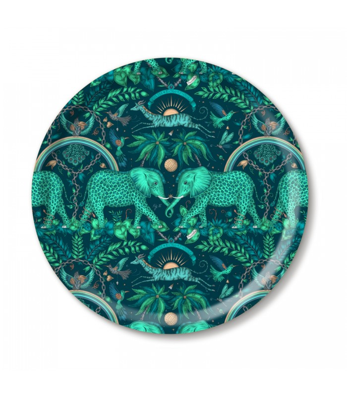 39cm teal safari tray