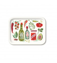 Rectangular Good Food Birch Tray