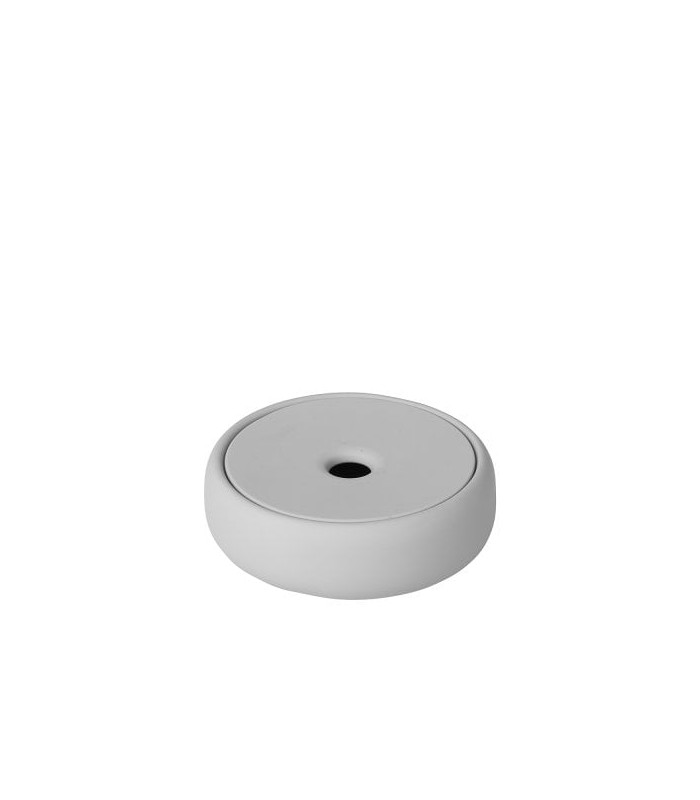 Pale Grey Storage Dish with Lid