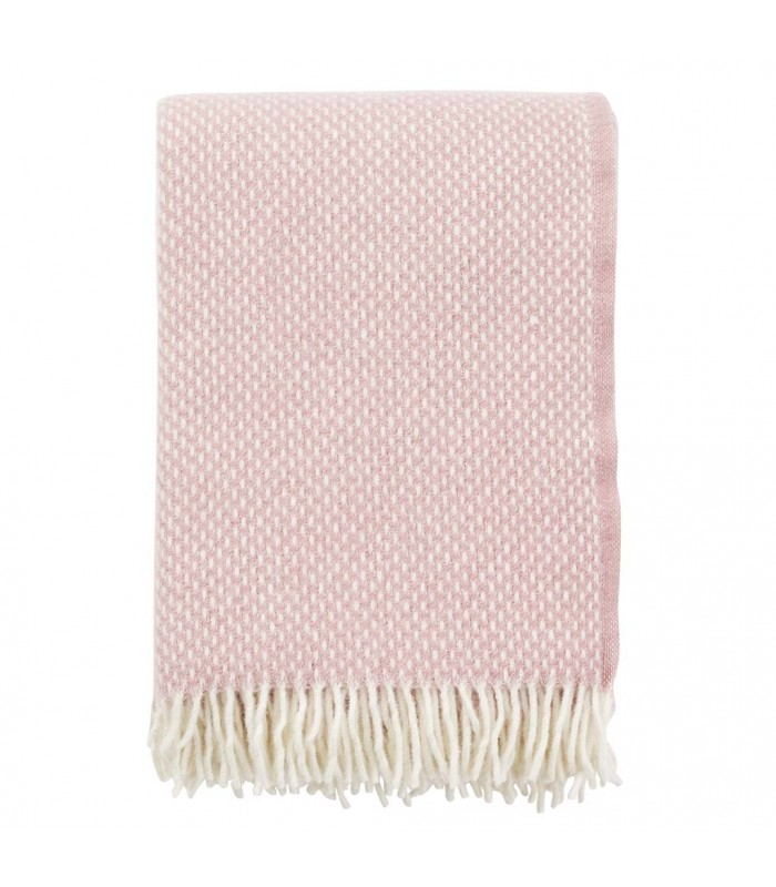 PREPPY Rose Wool Throw