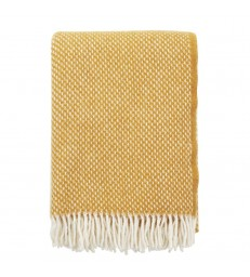 PREPPY Mustard Yellow Wool Throw