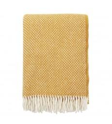 PREPPY Mustard Yellow Wool Throw