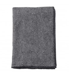 NOVA Dark Grey Wool Throw