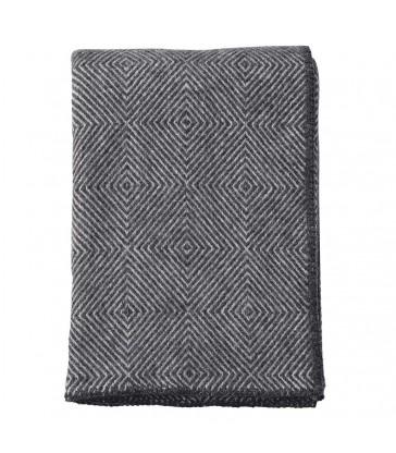 NOVA Dark Grey Wool Throw
