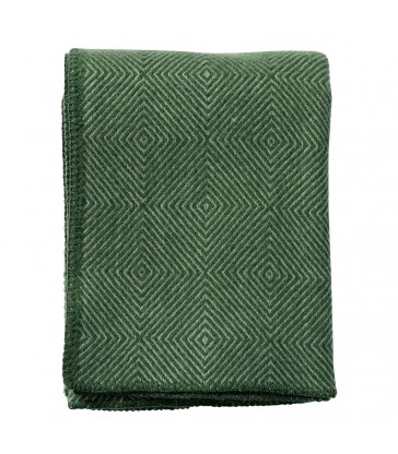 NOVA Green Wool Throw