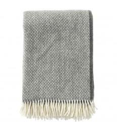 FRECKLES Granite ~Grey Wool Throw
