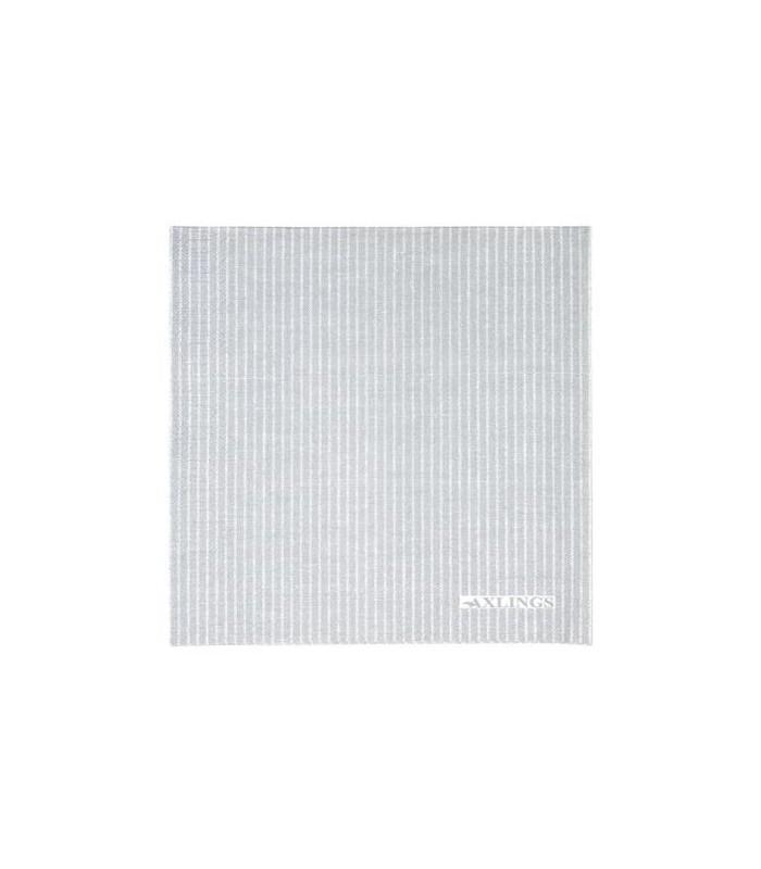 Grey Striped Paper Napkins - Pack 50