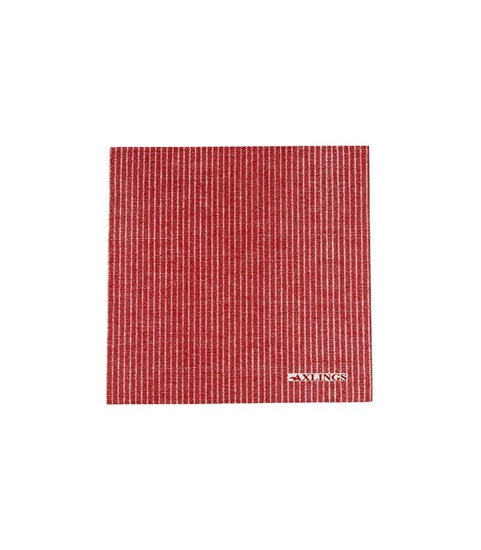 Red Striped Paper Napkins - Pack 50