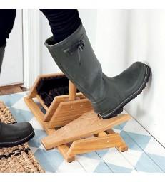 Oak Boot / Shoe cleaner & bootjack