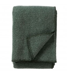 DOMINO Green Wool Throw