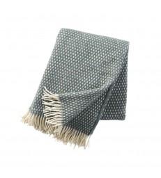 KNUT Green Wool Throw