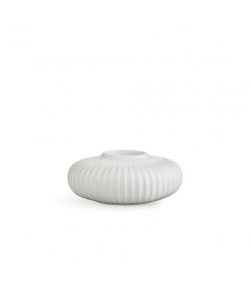 Tea Light Holder White 13cm diameter