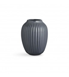 Tall Dark Grey Vase 25.5cm high