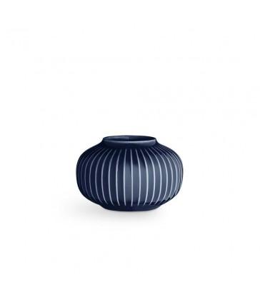 Indigo Blue Tea Light Holder 10cm diameter