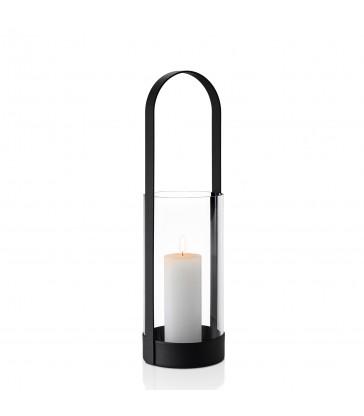 Large Lantern - Black Steel
