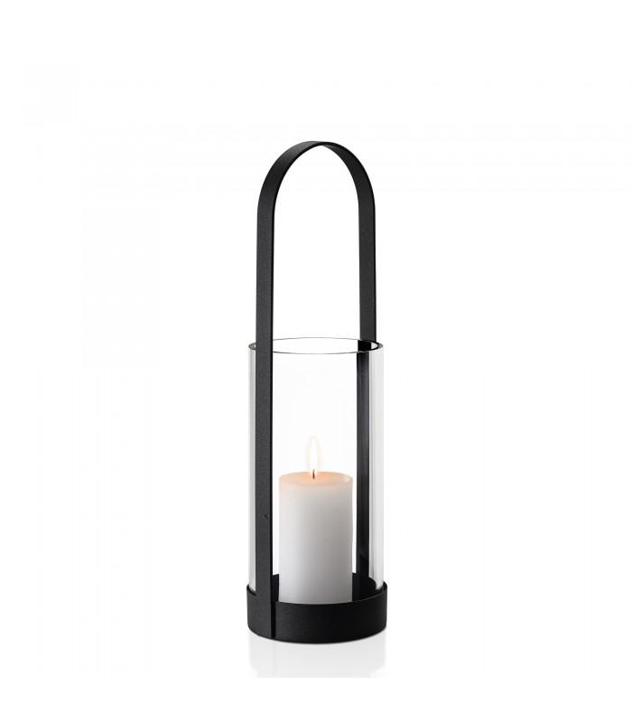 Indoor Lantern - Black Steel