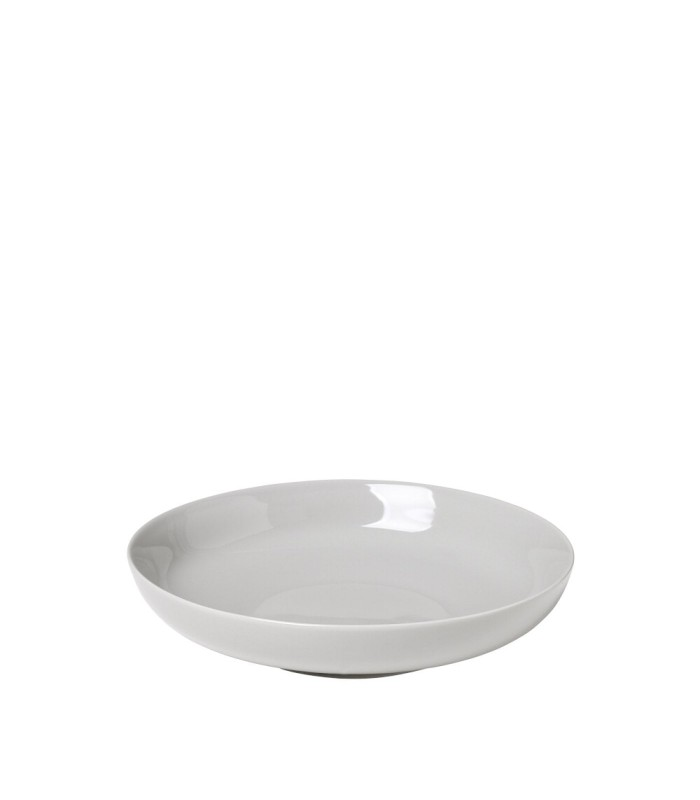 Pale Grey Deep Plate - Dinnerware