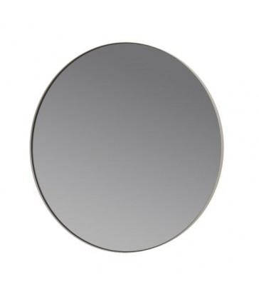 Round Wall Mirror - Ash Brown