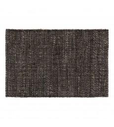 Black Melange Jute Doormat