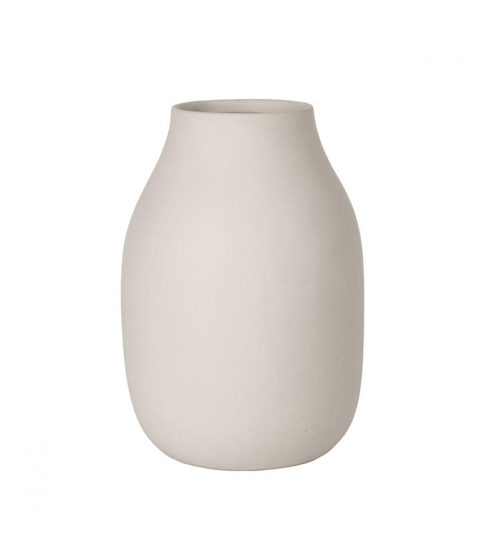 Beige Stoneware Vase