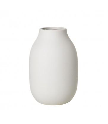 Small Beige Stoneware Vase