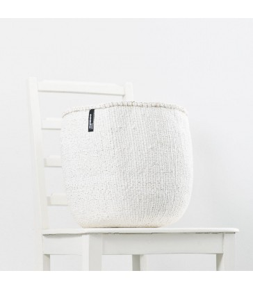White Storage Basket