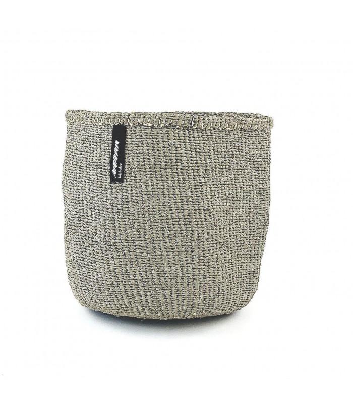 Small Storage Basket - Blue/White stripe