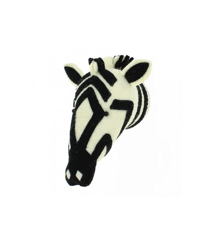 Mini Zebra Head