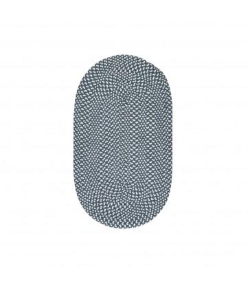 Slate Blue Recycled Rug - 69x122cm