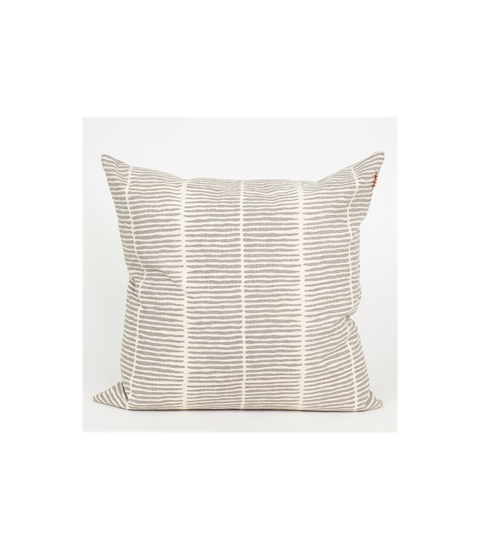Lemongrass Grey cushion 50x50cm