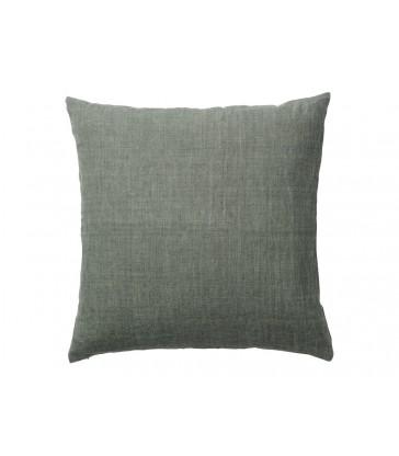 Army Green Linen Cushion