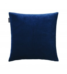 Paolo Ink Blue Velvet Cushion