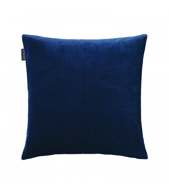 Paolo Ink Blue Velvet Cushion