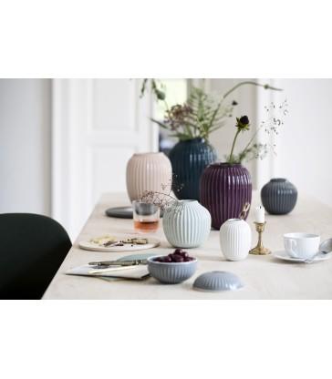 Dark Indigo Ceramic Vase - 21cm high