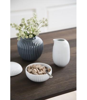Indigo Blue Ceramic Vase 13cm high