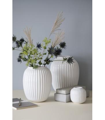 Tall White Vase 25.5cm high