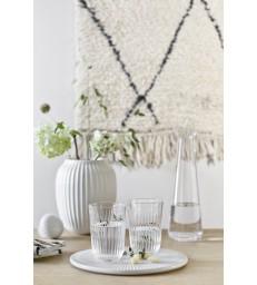 White Vase 21cm high