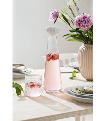 Pale Rose Ceramic Vase 10.5cm high