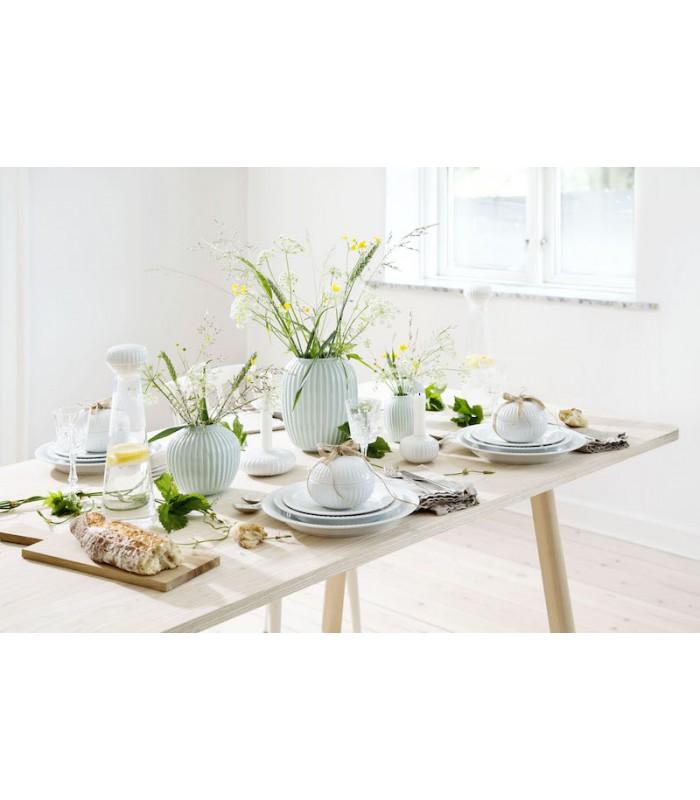 Pale Mint Green Ceramic Vase 10.5cm high